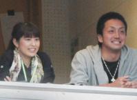 日テレの森アナと巨人 沢村 画像